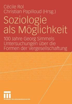 Soziologie als Moglichkeit: 100 Jahre Georg Simmels Untersuchungen uber die Formen der Vergesellschaftung (Paperback)