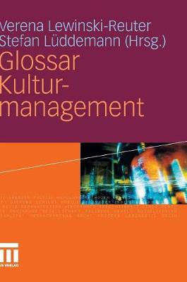 Glossar Kulturmanagement (Hardback)