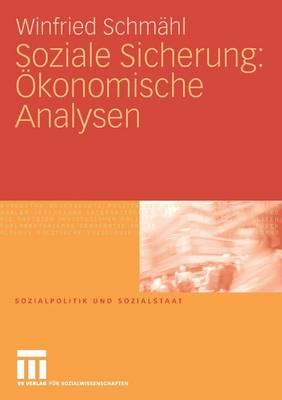Soziale Sicherung: OEkonomische Analysen - Sozialpolitik Und Sozialstaat (Paperback)
