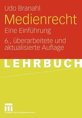 Medienrecht: Eine Einfuhrung (Paperback)