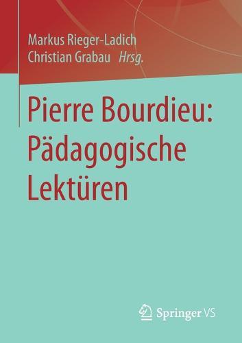 Pierre Bourdieu: P dagogische Lekt ren (Paperback)