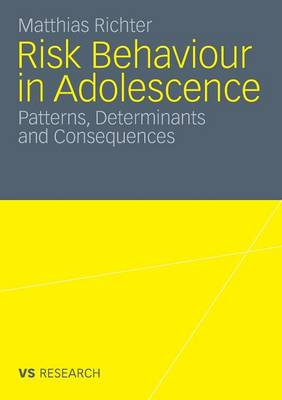 Risk Behaviour in Adolescence 2010: Patterns, Determinants and Consequences (Paperback)