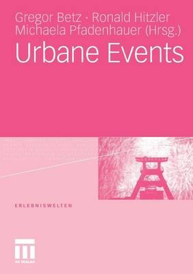 Urbane Events - Erlebniswelten (Paperback)