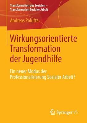 Wirkungsorientierte Transformation Der Jugendhilfe: Ein Neuer Modus Der Professionalisierung Sozialer Arbeit? - Transformation Des Sozialen - Transformation Sozialer Arbeit 2 (Paperback)