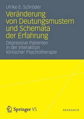 Ver nderung Von Deutungsmustern Und Schemata Der Erfahrung: Depressive Patienten in Der Interaktion Klinischer Psychotherapie (Paperback)
