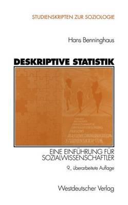 Deskriptive Statistik - Studienskripten Zur Soziologie (Paperback)
