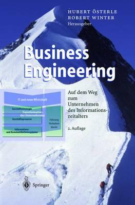 Business Engineering: Auf Dem Weg Zum Unternehmen Des Informationszeitalters - Business Engineering (Hardback)