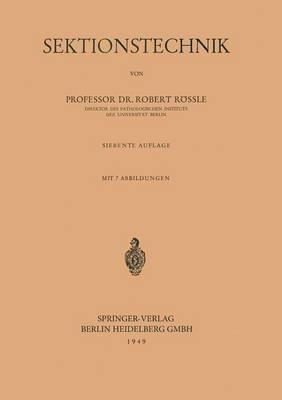 Sektionstechnik (Paperback)
