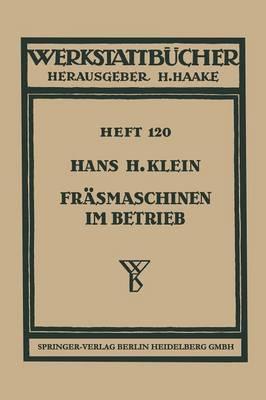 Fr smaschinen Im Betrieb - Werkstattba1/4cher 120 (Paperback)