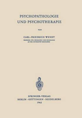 Psychopathologie Und Psychotherapie (Paperback)