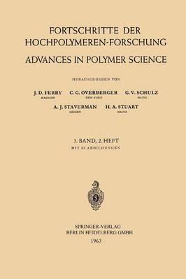 Fortschritte der Hochpolymeren-Forschung / Advances in Polymer Science - Advances in Polymer Science 3/2 (Paperback)