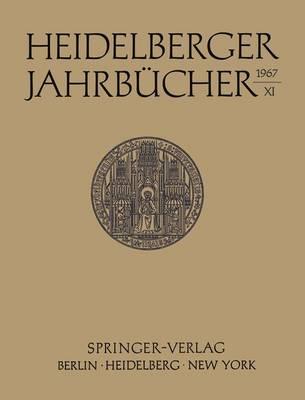 Heidelberger Jahrbucher: 38 (Paperback)