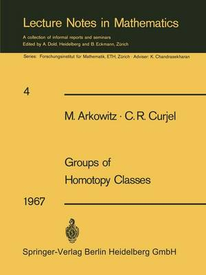 Groups of Homotopy Classes: Rank formulas and homotopy-commutativity - Lecture Notes in Mathematics 4 (Paperback)