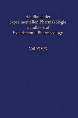 The Adrenocortical Hormones - Handbook of Experimental Pharmacology / The Adrenocortical Hormones 14 / 3 (Hardback)