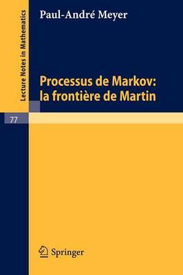 Processus De Markov: La Frontiere De Martin (Paperback)