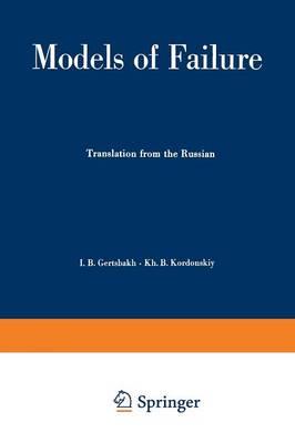 Models of Failure - Ingenieurwissenschaftliche Bibliothek   Engineering Science Library (Paperback)