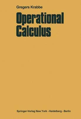 Operational Calculus (Hardback)