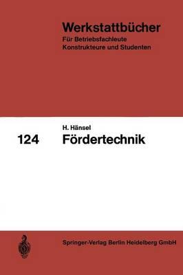F rdertechnik - Werkstattba1/4cher 124 (Paperback)