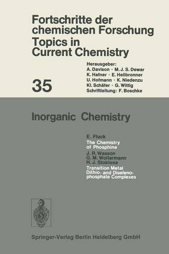Inorganic Chemistry - Topics in Current Chemistry 35 (Paperback)