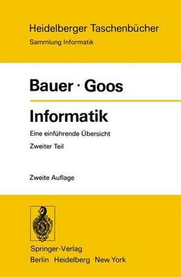 Informatik - Heidelberger Taschenbucher 91 (Paperback)