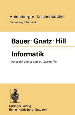 Informatik - Heidelberger Taschenbucher 160 (Paperback)