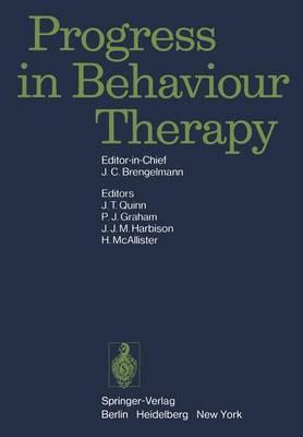 Progress in Behaviour Therapy (Hardback)