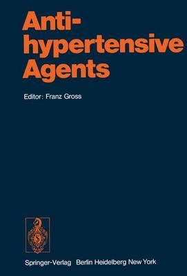 Antihypertensive Agents - Handbook of Experimental Pharmacology 39 (Hardback)