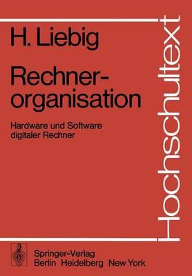 Rechnerorganisation - Hochschultext (Paperback)