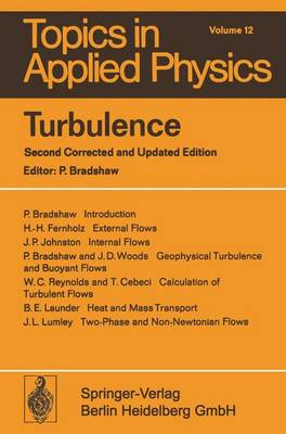 Turbulence - Topics in Applied Physics 12 (Paperback)