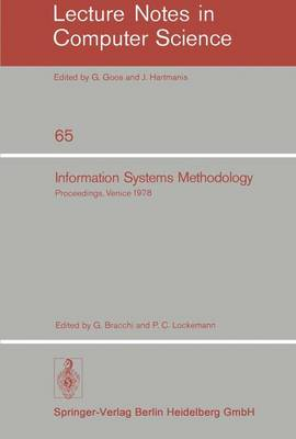 Information Systems Methodology: Proceedings, 2nd Conference of the European Cooperation in Informatics, Venice, October 10-12, 1978 - Lecture Notes in Computer Science 65 (Paperback)