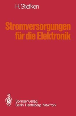 Stromversorgungen fur die Elektronik (Paperback)