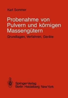 Probenahme von Pulvern und Kornigen Massengutern (Paperback)