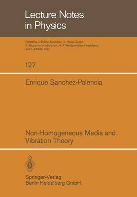 Non-Homogeneous Media and Vibration Theory - Lecture Notes in Physics 127 (Paperback)