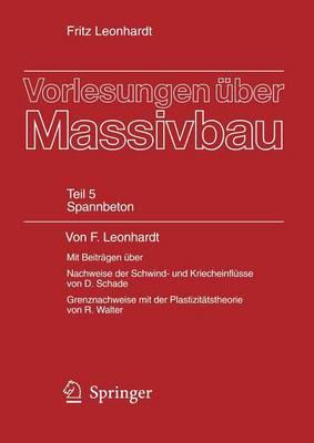 Vorlesungen Euber Massivbau (Hardback)