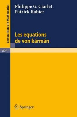Les Equations De Von Karman (Paperback)