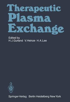 Therapeutic Plasma Exchange (Paperback)
