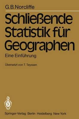 Schliessende Statistik fur Geographen (Paperback)