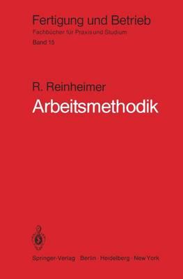 Arbeitsmethodik - Fertigung und Betrieb 15 (Paperback)