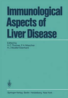 Immunological Aspects of Liver Disease (Paperback)