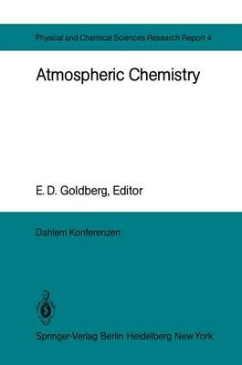 Atmospheric Chemistry (Hardback)