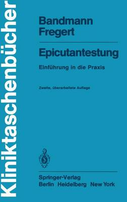 Epicutantestung - Kliniktaschenbucher (Paperback)