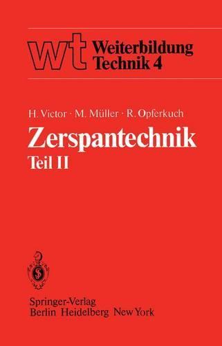 Zerspantechnik - Wt Weiterbildung Technik 5 (Paperback)