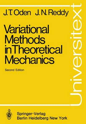 Variational Methods in Theoretical Mechanics - Universitext (Paperback)