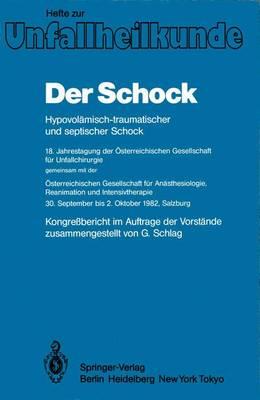 """Der Schock - Hefte zur Zeitschrift  """"Der Unfallchirurg"""" 156 (Paperback)"""