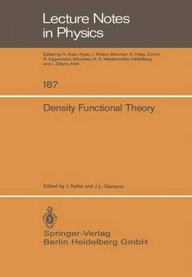 Density Functional Theory - Lecture Notes in Physics 187 (Paperback)