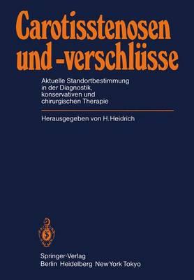 Carotisstenosen und -verschlusse (Paperback)