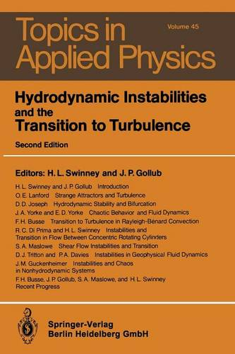 Hydrodynamic Instabilities and the Transition to Turbulence - Topics in Applied Physics 45 (Paperback)