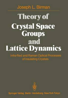 Theory of Crystal Space Groups and Lattice Dynamics: Infra-Red and Raman Optical Processes of Insulating Crystals (Paperback)