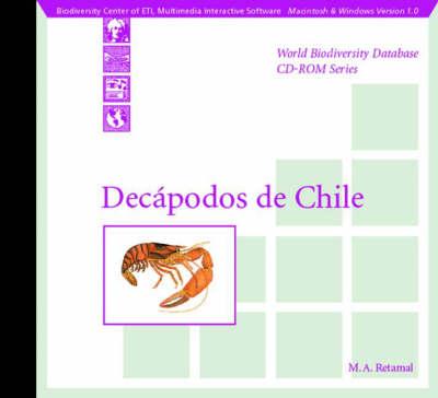 Decapodos De Chile (CD-ROM)