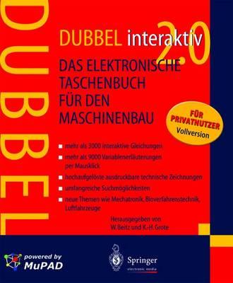 Dubbel Interaktiv 2.0: Das Elektronische Taschenbuch Fur Den Maschinenbau (CD-ROM)